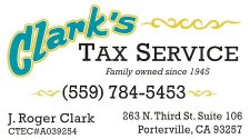 Clark's Tax Service