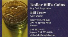 Dollar Bill's Coins
