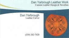 Dan Yarbrough Leather Carver