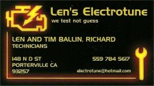 E-Mail Len's Electro-Tune