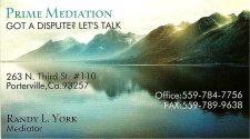 Prime Mediation