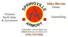 Springville Armory