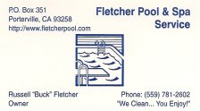 Fletcher Pool and Spa Service