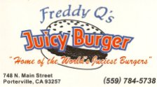 Freddy Q's - Juicy Burger