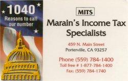 Marain's Tax Service
