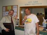 Eddie Hernandez and Greg Shelton