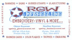 RGW Impressions and more ...