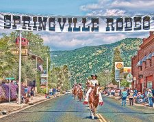 Join us for the 65th Annual P.R.C.A. Rodeo in the foothills of the Sierra-Nevada mountains