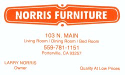 NORRIS Furniture