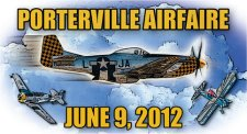 PORTERVILLE AIR FAIRE : June 9th 2012