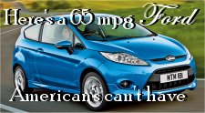 Here's a 65 MPG Ford that American's Can't Have