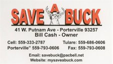 Save A Buck Adds