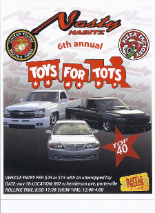 Toys for Tots - Car and Bike Show by Nasty Habits