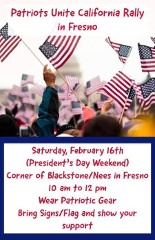ALERT !! RALLY DATE CHANGED TO FEB 23rd - DUE TO WEATHER ISSUES