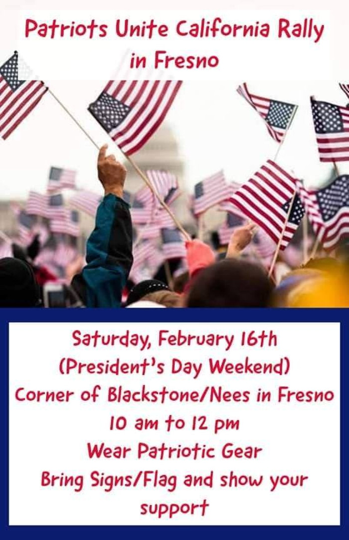 ALERT !!! RALLY DATE CHANGED TO FEB 23rd - DUE TO WEATHER ISSUES