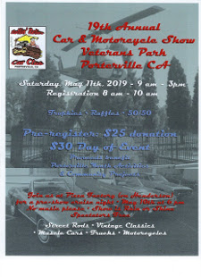 MAY 11th 2019 - ROLLIN' RELICS CAR SHOW - VETERANS PARK - PORTERVILLE