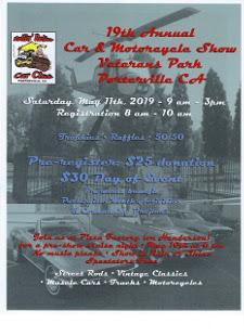 MAY 11th 2019 - ROLLIN' RELICS CAR SHOW - VETERANS PARK - PORTERVILLE