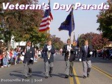 Celebrating Veteran's Day in Porterville