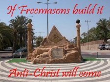 If Freemasons Build it - Anti-Christ will come