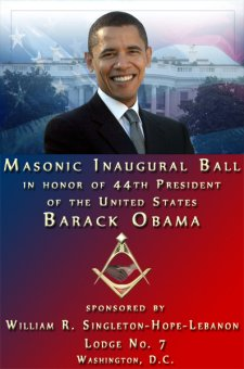 Masons have a Ball on Obama