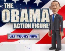 Jail Break Toys Presents : Obama Action Figure
