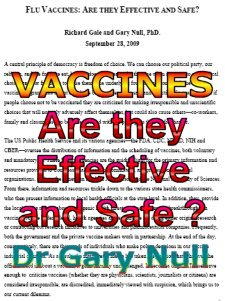 Are Flu Vaccines Effective and Safe ?