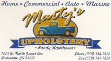 Marty's Upholstery